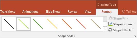 خطوط سریع سبک در Office را نشان می دهد