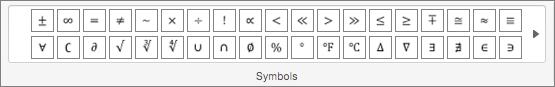 گروه نمادها