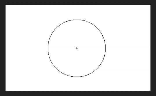این کراس اور باعث می شود مرکز مکان نما برس در فتوشاپ باشد