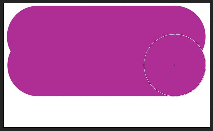 نقاشی ضربه دوم قلم مو در Photoshop ، همچنین در حالت ترکیبی Normal قرار دارد