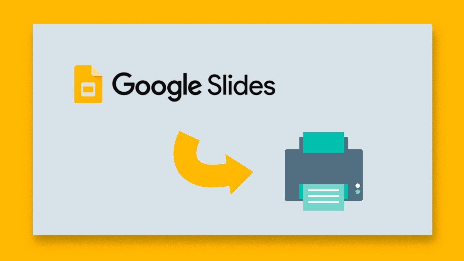نحوه چاپ ارائه ها در اسلایدهای Google |  نکات سریع و آموزش برای ارائه های خود