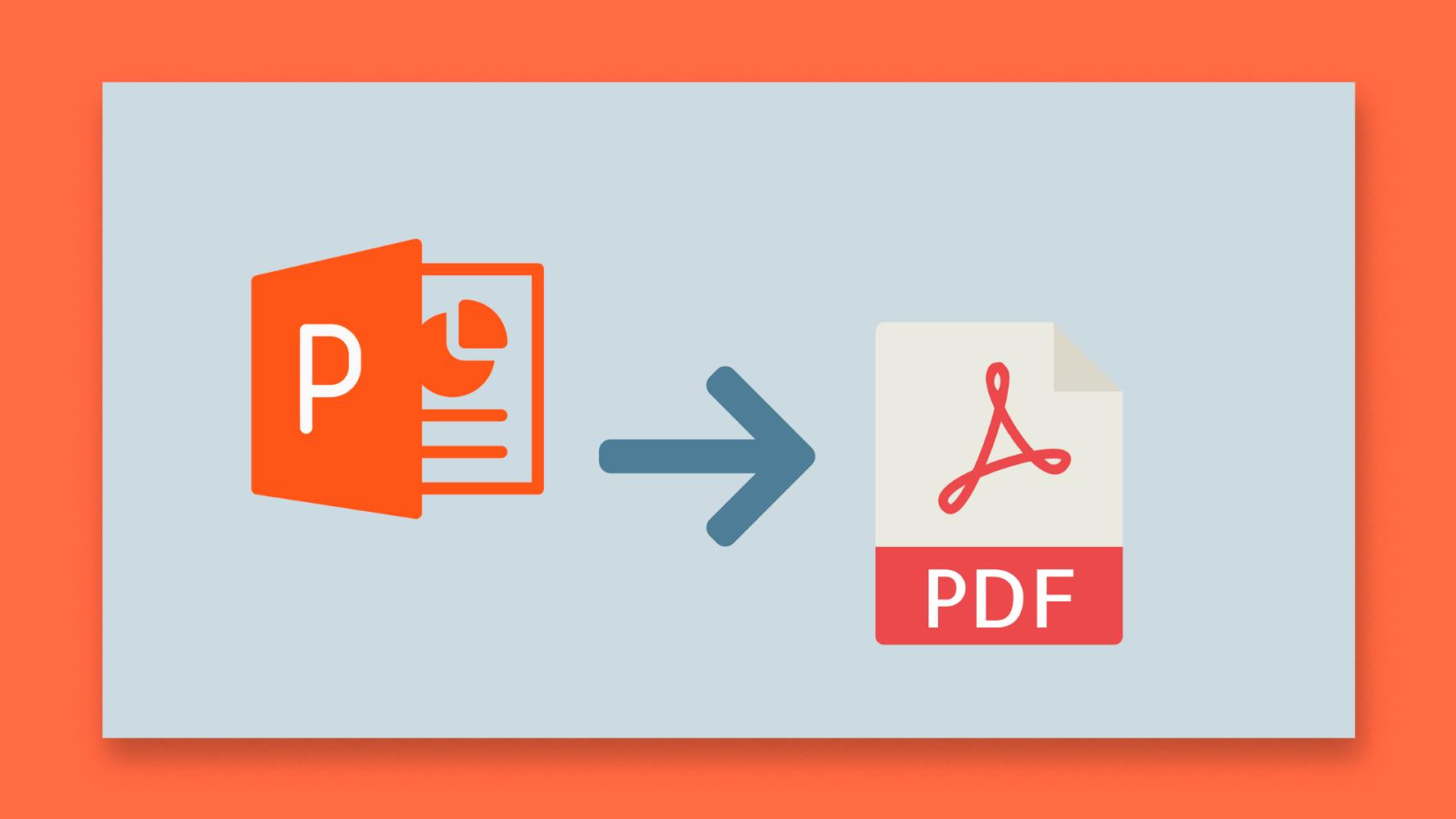 نحوه صادر کردن ارائه پاورپوینت خود به عنوان یک فایل PDF |  نکات سریع و آموزش برای ارائه های خود
