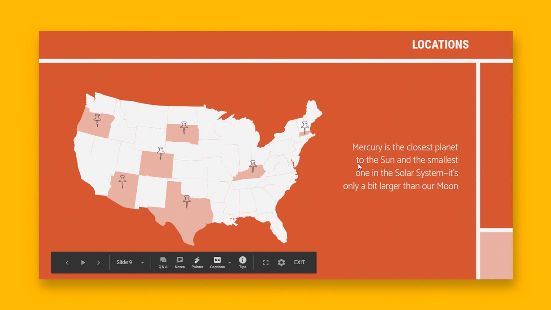 نحوه استفاده از نمای ارائه دهنده در اسلایدهای Google    نکات سریع و آموزش برای ارائه های خود