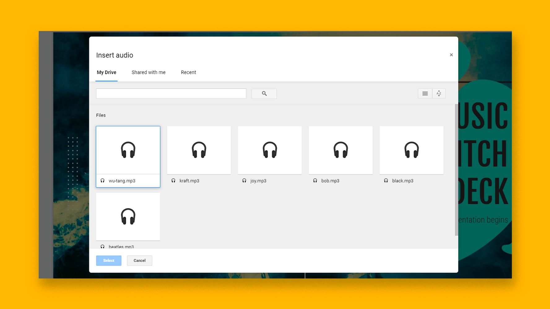 نحوه افزودن و ویرایش صدا یا موسیقی در اسلایدهای Google    نکات سریع و آموزش برای ارائه های خود
