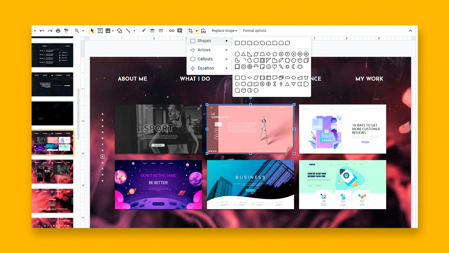 نحوه درج ، برش یا ماسک تصاویر در اسلایدهای Google |  نکات سریع و آموزش برای ارائه های خود