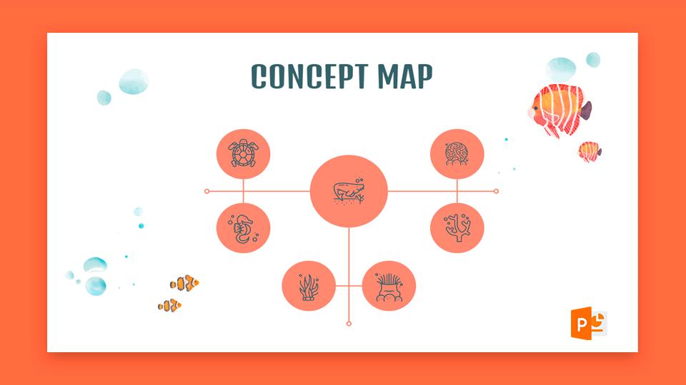 نحوه تهیه نقشه مفهومی در پاورپوینت |  نکات سریع و آموزش برای ارائه های خود